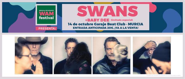 Swans, gran aperitivo para el WAM 2018